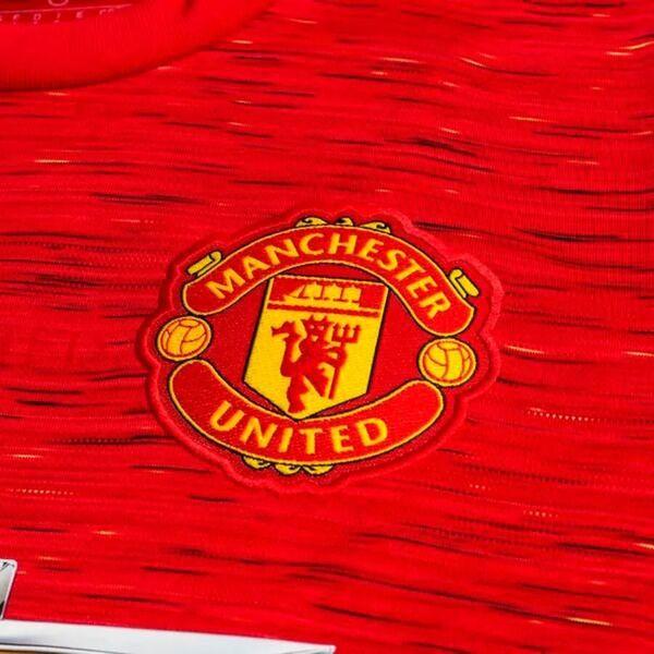 Манчестер Юнайтед домашняя форма сезон 2020-2021 (футболка+шорты+гетры)